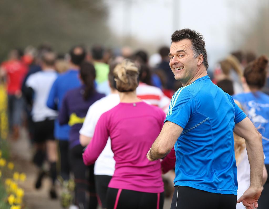 runners enjoying parkrun