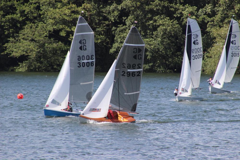 Graduate sailing dinghies