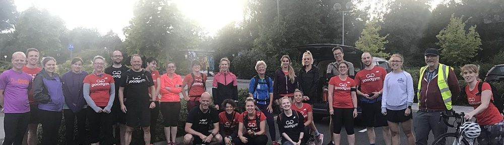 GoodGym group clears Sustrans pathsw